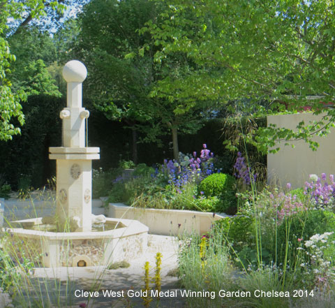 Cleve West Gold Medal Winning Garden Chelsea 2014