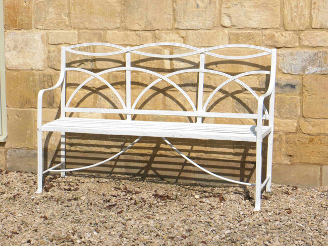 840-ANTIQUE-REGENCY-BENCH